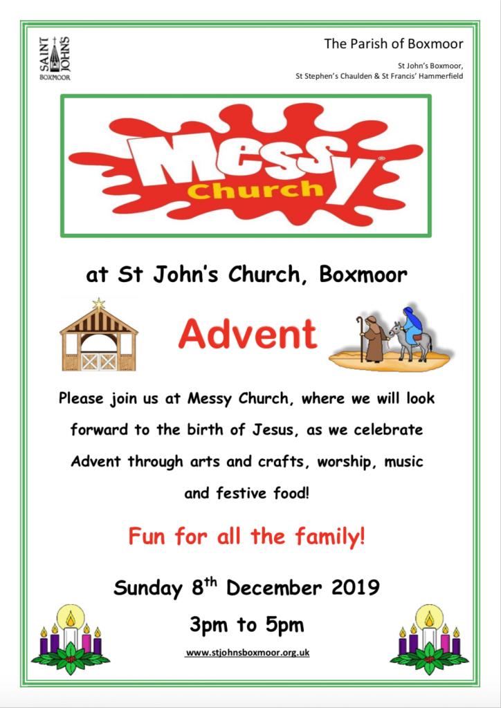 Messy-Church-December-Hemel-Hempstead